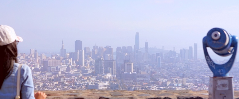 Emme Hope Twin Peaks San Francisco Skyline