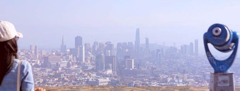 Emme Hope Twin Peaks San Francisco Skyline