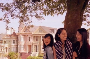 Alamo Square Painted Ladies Step Sisters San Francisco The Graceful Charity Certeza Photography Michelle Yasmin Photogprahy Emme Hope Slow Blog