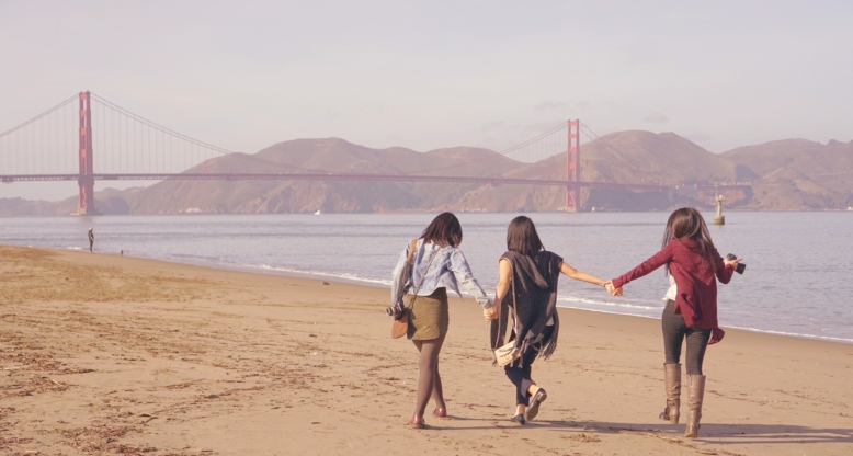 Crissy Field East Beach Golden Gate Bridge December in San Francisco Emme Hope Slow Blog