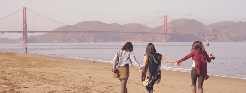 Crissy Field East Beach Golden Gate Bridge December in San Francisco Emme Hope Slow Blog