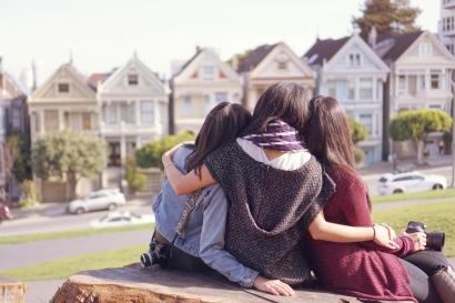 Painted Ladies San Francisco Friendship Girlfriends Slow Travel Emme Hope Slow Blog