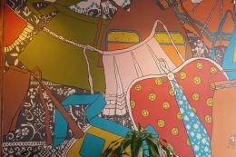 Farina Bakery Apron Wall Mural Portland Trip by emmehope.co Slow Blog