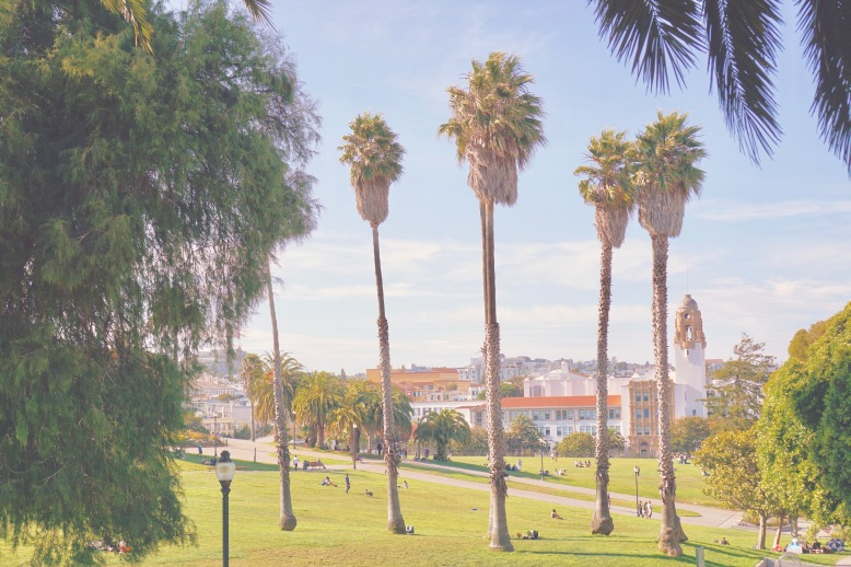 DOLORES PARK - Mindful Travel - Mission District (The Mission) by Emme Hope Slow Blog San Francisco Slow Travel Slow Living - copyright 2019 emmehope.co